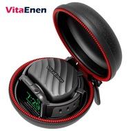 Vitaenen Carry Caseเข้ากันได้กับApple Watch Series 5/SERIES 4/SERIES 3/SERIES 2/SERIES 1 /44mm /42mm /40mm/38mm,กระเป๋าเดินทางแบบแข็งพร้อมแท่นชาร์จและcarabinerไม่รวมสายชาร์จแม่เหล็กเดิม
