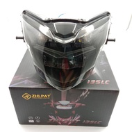 Zhipat Headlamp Yamaha Lc135 Lc 135 Head Lamp 100% Original Genuine Smoked Tinted