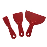 3pcs Spatula Putty Easy Clean Hand Tools Reusable Spreader Filler Job Done Small Large Scraper Set