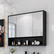Bathroom Mirror Cabinet Wall Mounted Box with Shelves, Toilets, Dressing Mirrors, Waterproof Storage Cabinets, Cabinets