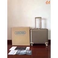 ㊣Rimowa 日默瓦原單全鋁鎂合金機長登機箱 18寸行李箱 旅行箱 海外代購14601