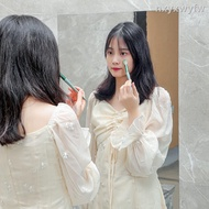 1221 Mirror Stickers Decorative Soft Mirror Wall Sticker