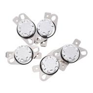 5 x KSD301 NC Thermostat Temperature Control Switch 105 Celsius 250V 10A
