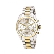 Michael Kors Two-Tone Chronograph Bradshaw Authentic and Pawnable for Mens MK watch Two-Tone Chronograph Pawnable watch for Womens Original Sale Couple watch