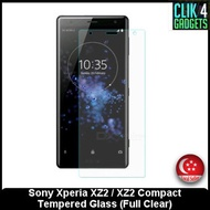 Tempered Glass Sony Xperia XZ2 / XZ2 Compact / Full Clear