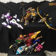 獸電戰隊 大全套 10大獸電龍 機器人 獸電劍 獸電槍 嘉年華小暴龍 獸電池 日版 二手 DX