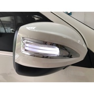 車酷中心 MITSUBISHI ZINGER 雙贏 2合1 LED光柱燈後視鏡蓋ㄧ組3800完工價