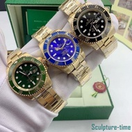 Available~RolexMen and women's Submariner gold watches