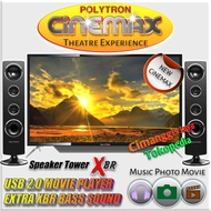 [Televisi/TV] TV LED POLYTRON 32 INCH CINEMAX