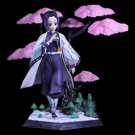Kochou Shinobu Demon Slayer Action Figure With Exquisite Base Butterfly Animated Character Model Decoration Statue Crafts Gifts Collectables 19CM