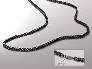 黑色鈦 ~TINA88小舖~~鈦項鍊日本Phiten銀谷 原廠 炭化鈦項鍊 液化鈦 純鈦 碳化鈦項鍊50CM~黑色 特價