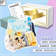 Giftbox 8in1 Mami New Gift For Baby Boy Girl - Newborn Gift 0 Months - 6 Months