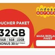 Vocher Indosat 32GB