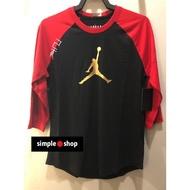 【Simple Shop】NIKE JORDAN CNY 己亥 新年 喬丹 七分袖 黑 紅 金 CD9053-010