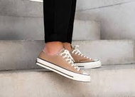 KUMO SHOES-現貨CONVERSE All Star Low 奶茶色 奶茶 帆布鞋 低筒 日本限定款 女鞋 161504C