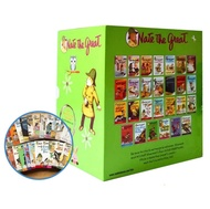 27 Books gift box Set Nate The Great English Reading Books Hell High School Life Detective Novels Books children story book