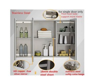 MIRROR CABINET/304 stainless steel/ready store/local seller/bathroom /