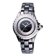 【KATINO卡帝諾】陶瓷系列晶鑽腕錶K303BZW-W