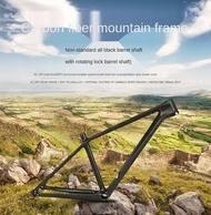 TWITTER M5 unstandard all black carbon fiber mountain bike frame barrel axle version 27.5/29 inch