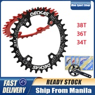Chainring MTB Bike 34T 36T 38T Chain Ring Round Mountain Bike Bicycle Chainwheel