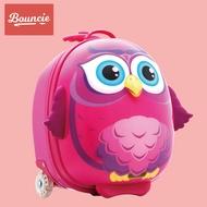 Bouncieรถเข็นเด็กของผู้หญิง สาวๆ3Dการ์ตูนน่ารักเจ้าหญิงกระเป๋าเดินทางเด็กน้อยกระเป๋าเดินทาง