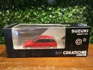 1/64 BM Creations Suzuki Swift 1989 Red 64b0026【MGM】
