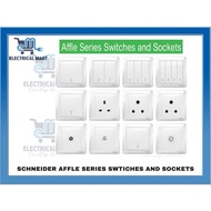 SCHNEIDER AFFLE PLUS / HAGER SWITCH SOCKET  / STYLEA / MUSE SWITCHES & SOCKET OUTLET WITH SIRIM APPROVED