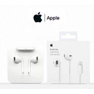 หูฟัง iphone7 ของแท้ iphoneX XR XS 11 12 pro Max Appleชุดหูฟังสากล 1: 1 กล่องบรรจุภัณฑ์ของแท้ 8plus AA