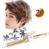 【日本CREATE ION】金色電捲棒 捲髮棒電棒 26mm(台灣公司貨 台灣檢驗合格)