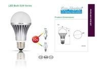 CELEX - 太陽系列 LED 燈泡 10W 6500K 冷白光 大螺頭 E27