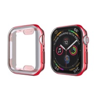 Cover Case For Apple Watch Band 44mm40mm  42mm38mm Iwatch Screen Protector Protective Bumper For Applewatch Series 5 4 3 44 Mm