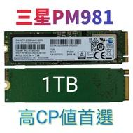 Samsung PM981 1TB SSD NVME