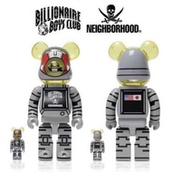 正品 BE@RBRICK BILLIONAIRE BOYS CLUB × NEIGHBORHOOD BCC 400%