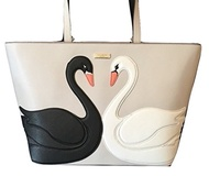 (Kate Spade New York) Kate Spade Swan Around Jules Tote Bag Leather Multi Handbag Womens-Wkru4630