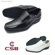 CSB รองเท้าคัชชูหนังชาย สีดำ รุ่น CM500 ไซส์ 39-47