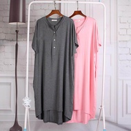 Breastfeeding Pajamas Sleepwear Maternity Dress Nursing Clothes For Pregnant Women Loose Feeding Dresses Nightwear