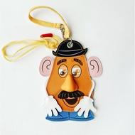 【現貨 全新】日本迪士尼限定 玩具總動員 蛋頭先生 悠遊卡套 立體  票卡夾 卡套 証件套 斜背包