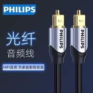 飛利浦數字光纖音頻線5.1聲道spdif音響功放電視低音炮音箱連接線