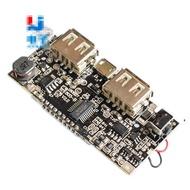 現貨 充電寶模組移動電源升壓DIY18650鋰電池數顯雙USB輸出充電板主板 w3 0。