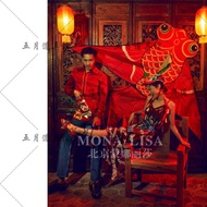 New Products Douyin Celebrity Style Chinese-style Goldfish Kite Ancient Costume Props Studio Wedding Dress Take Photography Exterior Cool Photo