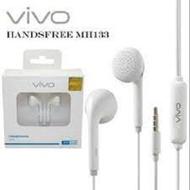 Mh133 bass Vivo Headset handsfree headphone Hetset henset earphone irpon handfree henpri MH133 bisa untuk hp VIVO XIAOMI SAMSUNG OPPO REALME jack 3.5mm