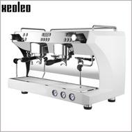 เครื่องทำน้ำผลไม้Xeoleoกึ่งอัตโนมัติEspressoเครื่องปั๊มคู่Espressoสแตนเลสอิตาลีกาแฟ15Bar 4900W