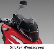 Honda ADV 150原廠精品風鏡貼
