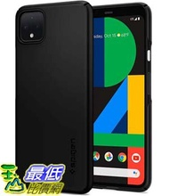 [9美國直購] Spigen 保護殼 B07T9P3W84 Spigen Thin Fit Designed for Google Pixel 4 XL Case (2019) - Black