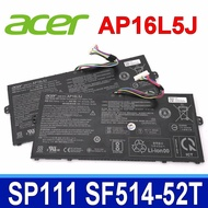 ACER AP16L5J 4芯 原廠電池 SF514-52T SF514-53T Spin 1 SP111-31N SP111-32N SP111-34N Swift 5 SF514-52 Swift 5 SF514-52T SF514-52TP SF514-53T TravelMate TMX514-51 TravelMate X514-51 系列