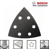 BOSCH博世 黑色三角形自黏砂紙 黑色三角型石材砂紙 玻璃 5片裝 適用魔切機 GMF GOP 12V18V