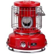 【日本Aladdin阿拉丁】攜帶式卡式瓦斯暖爐(紅色免插電使用瓦斯罐)