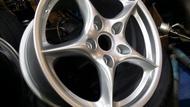 PORSCHE 原廠鋁圈 18吋 鍛造輕量化 前後配 適用BENZ/AUDI/VW/VAG車系 輪胎 鋁圈