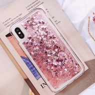Soft Quicksand Bling Case for Huawei Y6 2018,Y7 2018,Y6Prime,Y7Prime 2018