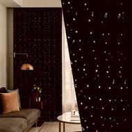 พร้อมส่ง ม่านหน้าต่าง ทึกแสง ผ้าม่านสีพื้น ม่านประตู สีดำ ผ้าม่านสำเร็จรูป ผ้ากันแสงUv